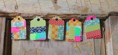 scrumdillydilly: diy: washi tape gift tags