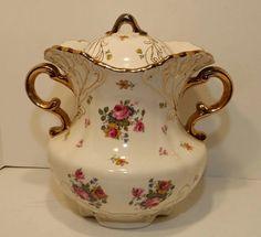 Vintage Victorian Cookie Jar Cookie Jar Vintage by colonialcrafts