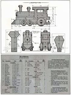 Wooden Toy Train Plans - Wooden Toy Plans