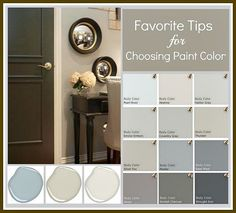 Tricks for choosing paint colors by eliminating undertones and eliminating shade. Tricks for choosing paint colors by eliminating undertones and eliminating shades that you know you don& want. {The Creativity Exchange} Interior Paint, Interior Design, Interior Decorating, Interior Colors, Decorating Ideas, Decor Ideas, Decorating Websites, Diy Ideas, Diy Casa