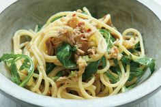 A simple pasta and tuna dish made by everyone's favourite chef, Nigella Lawson.
