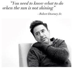 The wisdom of Robert Downey Jr.