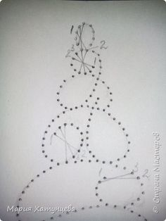The Latest Trend in Embroidery – Embroidery on Paper - Embroidery Patterns Christmas Embroidery Patterns, Embroidery Cards, Hand Embroidery Flowers, String Art Tutorials, String Art Patterns, Christmas Cards To Make, Christmas Crafts, Sewing Cards, Christmas Tree Painting