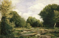 Exhibition Image Gallery - Renoir Landscapes: 1865-1883: A Clearing in the Woods, 1865