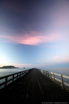 Tolaga Bay Wharf, East Coast, North Island, New Zealand