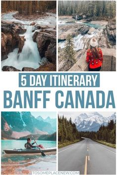 Banff National Park Itinerary 5 To 7 Days Banff Canada Town Summer And Winter Activities Banff National Park Summer Things To Do Banff National Park Lake Louise Canada Arcadia National Park, Grand Teton National Park, Rocky Mountain National Park, Jasper National Park, Banff National Park Canada, National Parks Usa, Vancouver, Canada Winter, Canada Summer