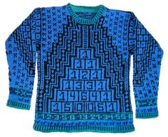 HOW TO: Hand-Knit Children's Math Sweater
