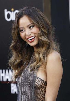 """Jamie Chung (Korean-American actress, birth name: Jamie Jilynn Chung, born on April 1983 in San Francisco, California) arrives at the premiere of Warner Bros. """"The Hangover Part II"""" held at Grauman's Chinese Theatre on May 2011 in Los Angeles, California. Beautiful Celebrities, Beautiful Actresses, Female Celebrities, Beautiful Asian Girls, Asian Woman, Pretty Woman, Asian Beauty, Korean American, April 10"""