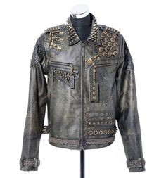 Dust & Beau Industrial Unrest Leather Jacket