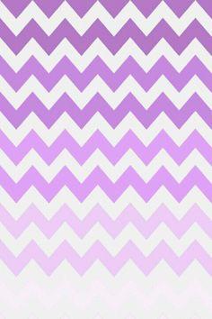 purple ombre chevron wallpaper ♥♥♥
