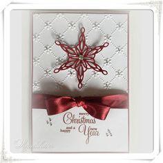 Lunasdatters Scrapbooking: Julekort - Merry Christmas..