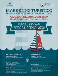 Marketing turistico, promuovere l'albergo e il territorio. Sina 4 Dicembre 2014