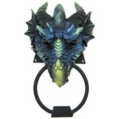 dragon door knocker -- need it and the castle to go with it