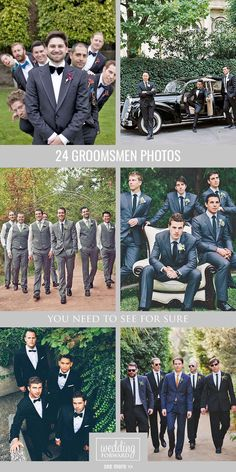 24 Awesome Groomsmen Photos You Can't Miss ❤ Need some ideas how to capture your best friends? We gathered a gallery of awesome groomsmen photos that you can't miss! See more: http://www.weddingforward.com/groomsmen-photos/ #weddings #groomsmen