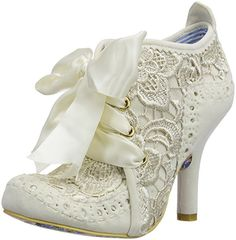 Irregular Choice Abigail's Third Party, Women's Closed-Toe Pumps, Off White (Cream), 6 UK (39 EU)