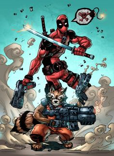 rocket raccoon comic - Google 검색