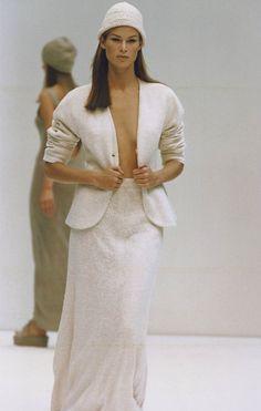 ce16e9f95b2 PRADA Spring Summer 1993 - Meghan Douglas Catwalk Fashion