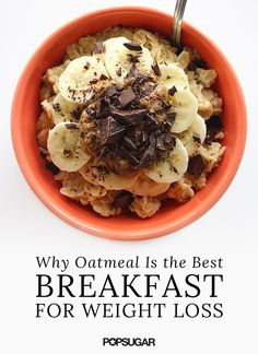 Oatmeal and Weight Loss | POPSUGAR Fitness
