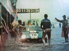 Sebring 12 Hours - 1965, the wettest of them all.