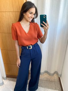 Camisa Coral, Spring Work Outfits, New Look, Ideias Fashion, Blouse, Spring Summer, Long Sleeve, Sleeves, Style