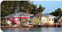 The Castaways Beach and Bay Cottages on Sanibel Island, FL - where Sanibel and Captiva Islands meet