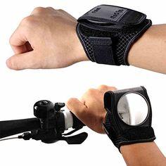 Bike Mirror, Yopoon Bicycle Rear View Wristband Mirror for Cyclists Mountain Road Bike Riding