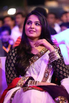 Tags: Anushka shetty white saree,Anushka Shetty purple saree, Anushka Shetty Hot Stills At Fashion Show In Black Saree, Anushka Shetty .