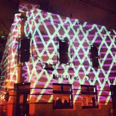 Builders arms hotel. Gertrude st projection festival
