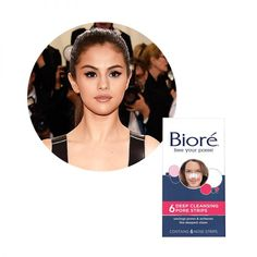 """Selena Gomez - Selena says these cult-favorite pore strips make her """"feel accomplished""""after each use."""