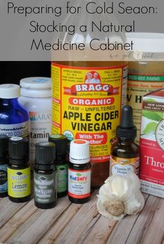 Prepare for cold season. Throw away the over the counter junk and build an effective natural medicine cabinet.