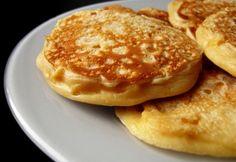 Kukoricás palacsinta Feta, Pancakes, Muffin, Breakfast, Healthy, Sweet, Kitchen, Morning Coffee, Candy