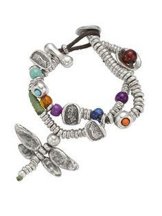 """""""Pim"""" bracelet Imitation Jewelry, Boho Jewelry, Jewelry Trends, Jewelry Accessories, Bangle Bracelets, Leather Bracelets, Costume Jewelry, Craft Storage, Jewelry Watches"""