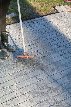 Creating your own paver patio requires one thing - you. See how you can build a perfectly sized paver patio with a built in fire pit. Paver Fire Pit, Building A Patio, Fire Pit Designs, Practical Gifts, Backyard Landscaping, The Great Outdoors, Garden Tools, Decks, Cart