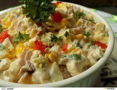 Hermelínový salát s Cottage, vejci a sušenými rajčaty recept - TopRecepty. What To Cook, 4 Ingredients, Cheeseburger Chowder, Ham, Salad Recipes, Potato Salad, Mashed Potatoes, Food And Drink, Soup