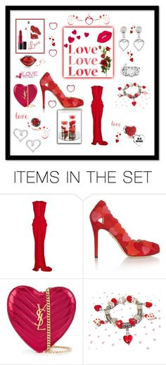 """""""💖Happy Valentine's Day Polyvore                    💋 Friends !! 💖"""" by mcronald-denise ❤ liked on Polyvore featuring art"""