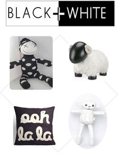 Black and White nursery accessories