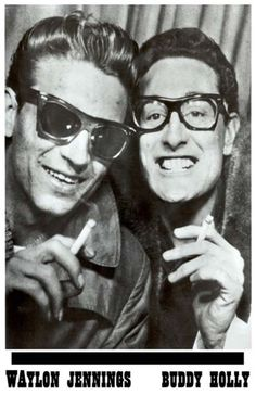 Waylon Jennings + Buddy Holly