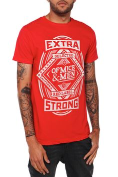 Of Mice & Men Extra Strong Slim-Fit T-Shirt   Hot Topic