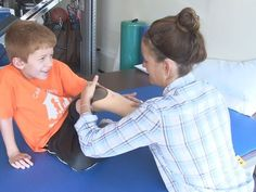 5 yr old amputee gets support from community.  10/13/14