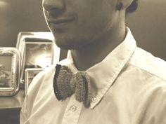 Bow Tie Crochet by yorokobiness on Etsy, €27.00