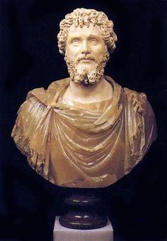 Septimius Severus, Roman Emperor , reigned ca. Statues, Statue En Bronze, Roman Emperor, Roman Art, Modern Sculpture, Prehistory, Ancient History, Les Oeuvres, Empire