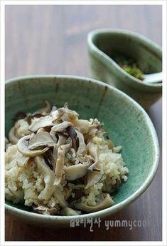 버섯밥~~~ 양념장이 일품입니다 ^^* – 레시피 | Daum 요리