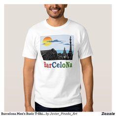 Barcelona Men's Basic T-Shirt