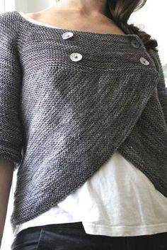 Kuva: fairy's fabrics    Sitä vaan, että eikös olekin nätti neuletakki? Kuva on keikkunut mulla Pinterestissä ihailtavana pitkään, ja n...