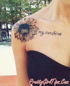 @prettygirltips Inspirational Quote Tattoo