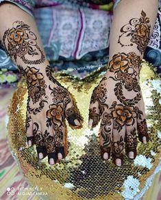 New Mehndi Designs 2018, Dubai Mehendi Designs, Wedding Henna Designs, Pretty Henna Designs, Khafif Mehndi Design, Rose Mehndi Designs, Full Hand Mehndi Designs, Mehndi Design Pictures, Mehndi Designs For Girls