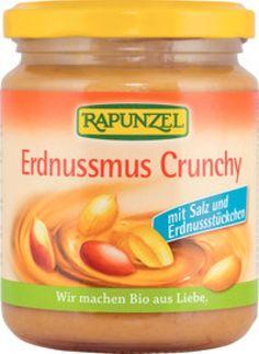 Rapunzel Erdnussmus Crunchy mit Salz, 250g