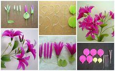 Flowers of nylon