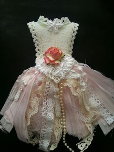 Shabby chic mini dressform