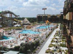 Wisconsin Dells, WI - Kalahari Resort with outdoor and indoor waterparks